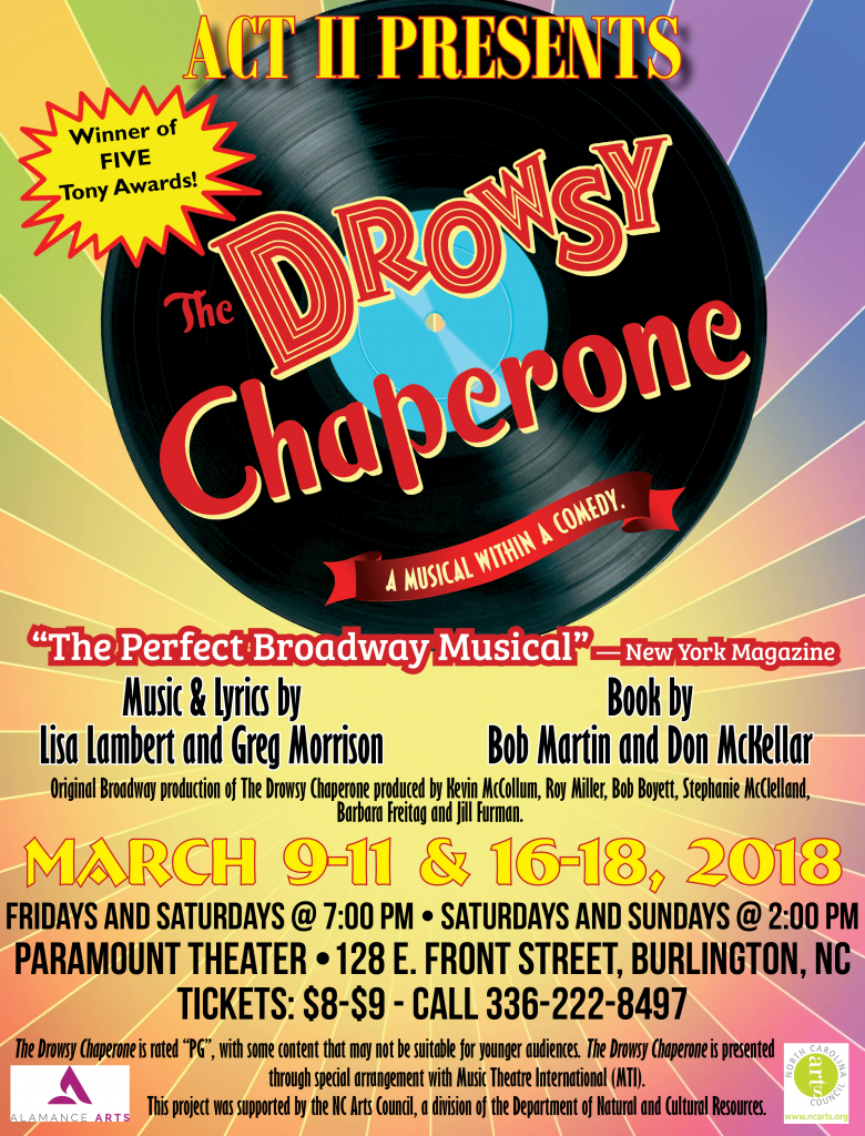 Drowsy Chaperone Poster